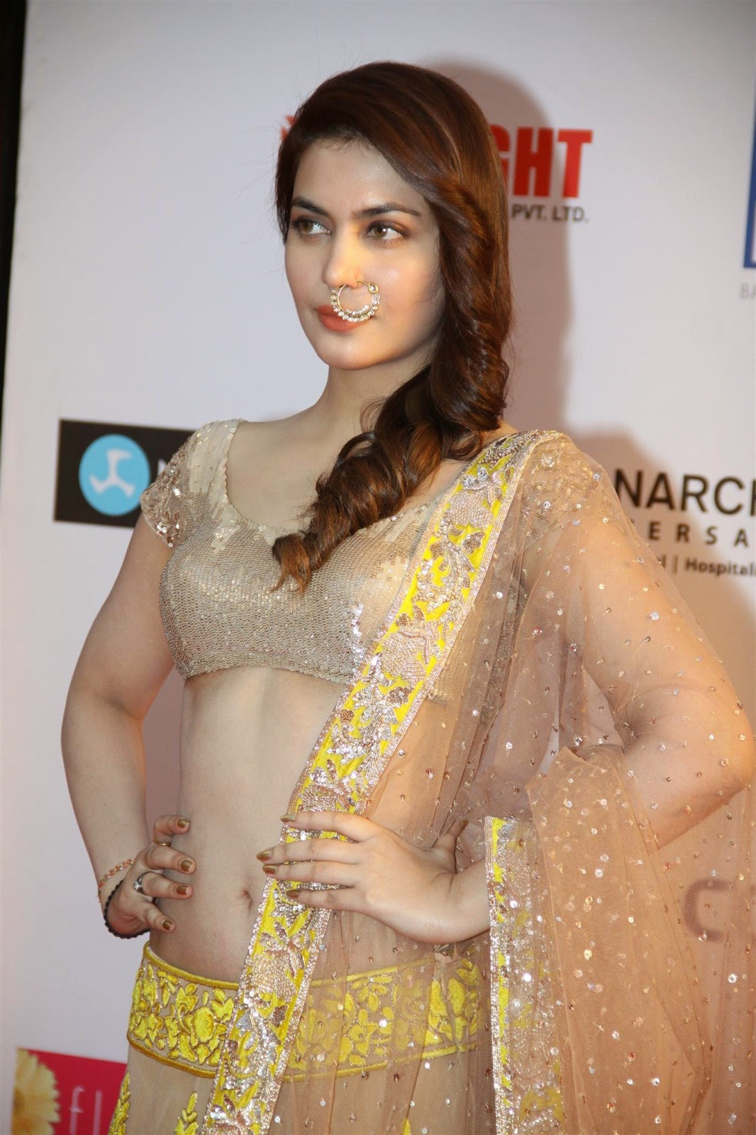 celebrities in designer backless blouses wel come to