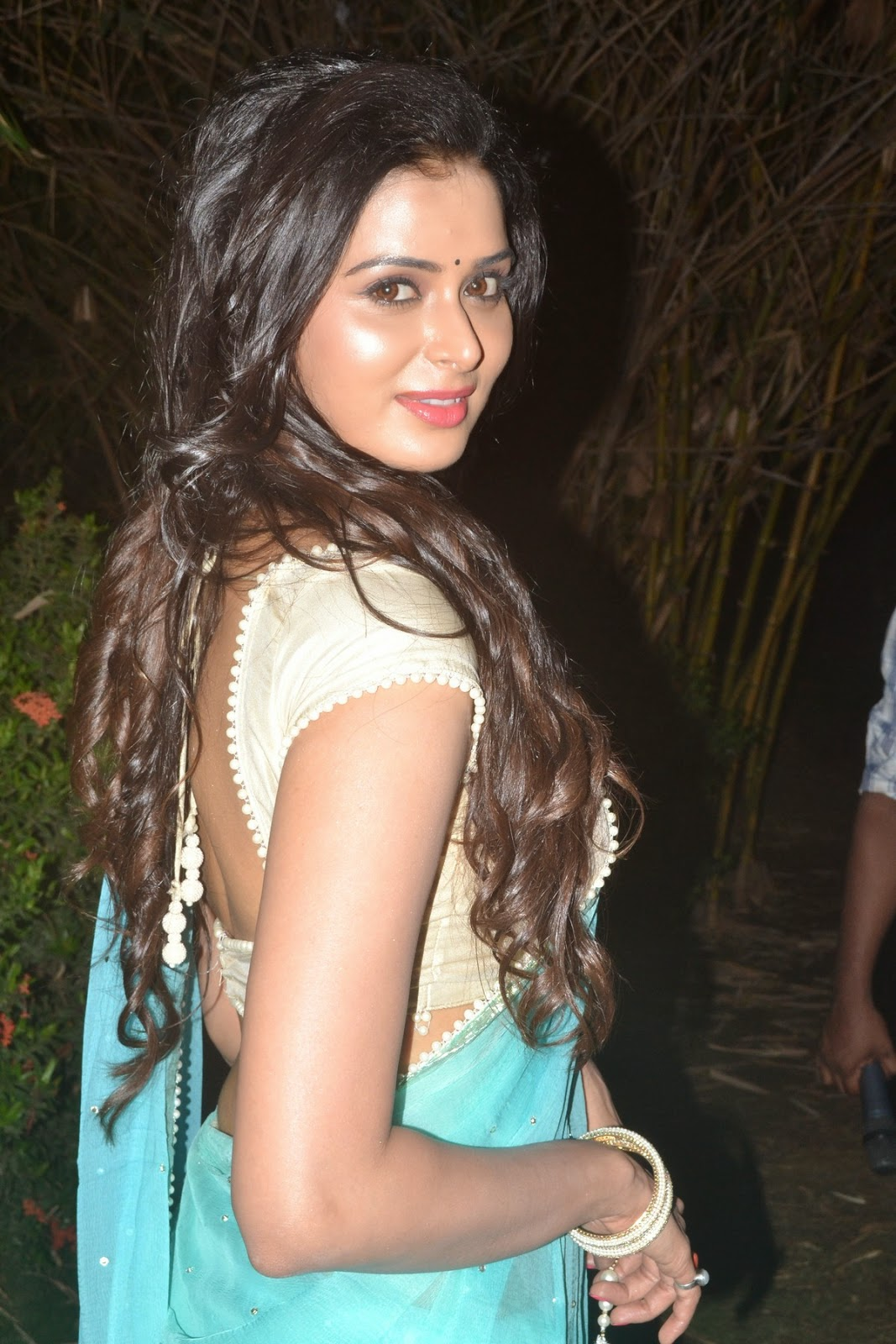celebrities in designer backless blouses | wel come to boon creation